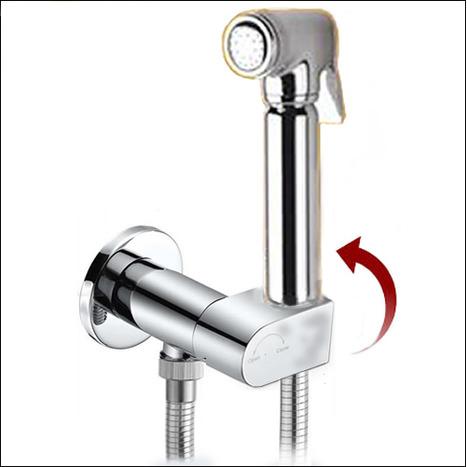 BRA5600 High Pressure Bidet Shower with Auto Prompt Shut Off Valve