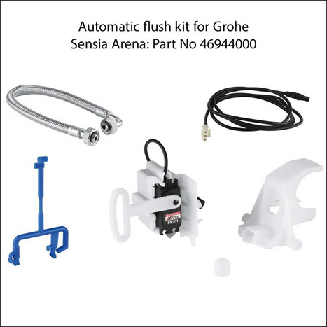 Auto Flush Set for Grohe Sensia Shower Toilet