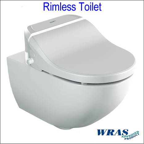 SFR-7035: RIMLESS Shower Toilet with Remote Control