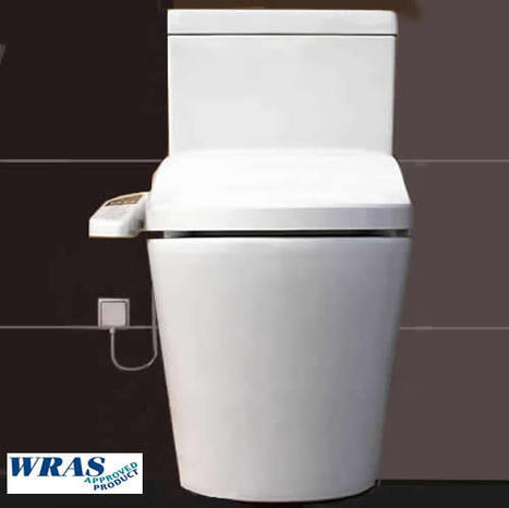 CCP-7235 Remote Controlled Shower Toilet