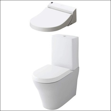 GL WASHLET + MH CLOSE COUPLED WC complete
