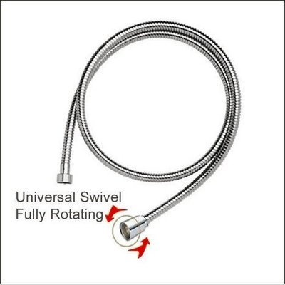HOS-AT: 1.2M Anti tangle stainless steel  Hose