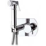 KIT6800: Italian Round style Monobloc Bidet Shower Kit