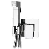 KIT7300: Italian Cubic style Monobloc Bidet Shower Kit