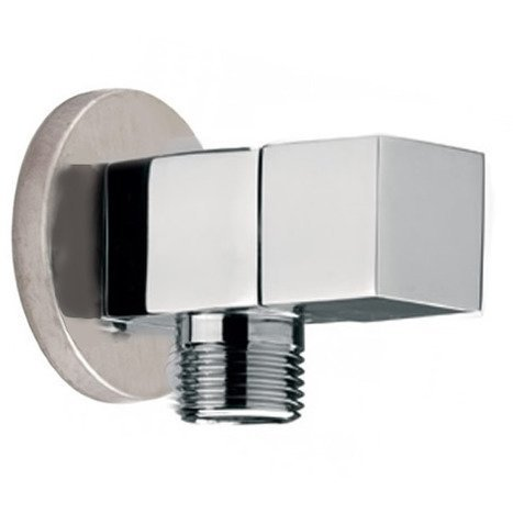 VAL0860:1/4 Turn Square Ceramic Angle Valve