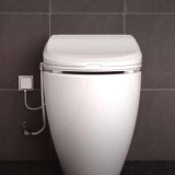 VIS7000: Combination electronic bidet seat and toilet